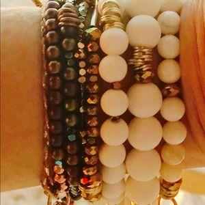 Jewelry - California boho chic beaded bracelet